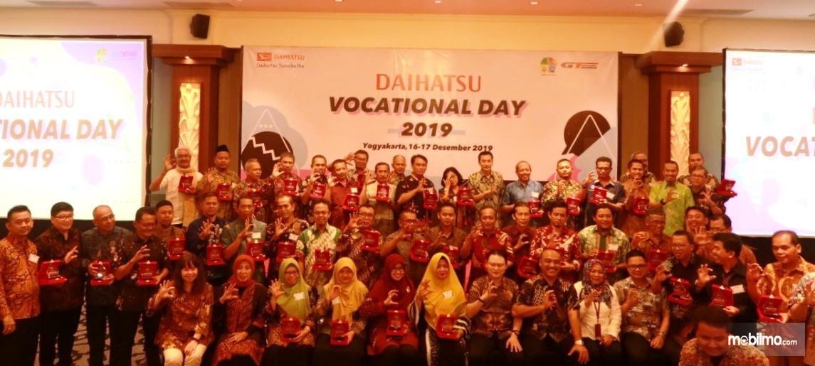 Foto peserta Daihatsu Vocational Day 2019