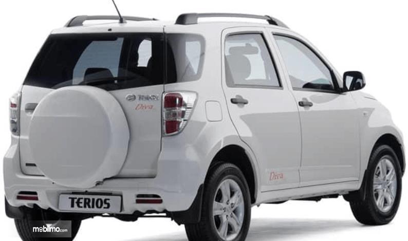 Gambar ini menunjukkan bagian belakang mobil Daihatsu Terios TX 2006