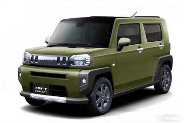 Foto Daihatsu Taft Concept yang dirilis Daihatsu Jepang