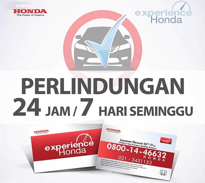 Banner Layanan Honda Experience 24H