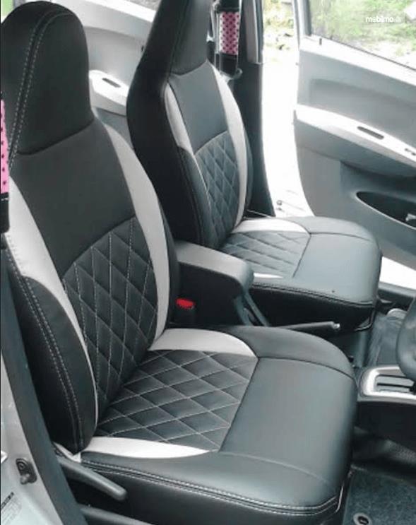 gambar ini menunjukkan jok mobil Datsun Go 2016