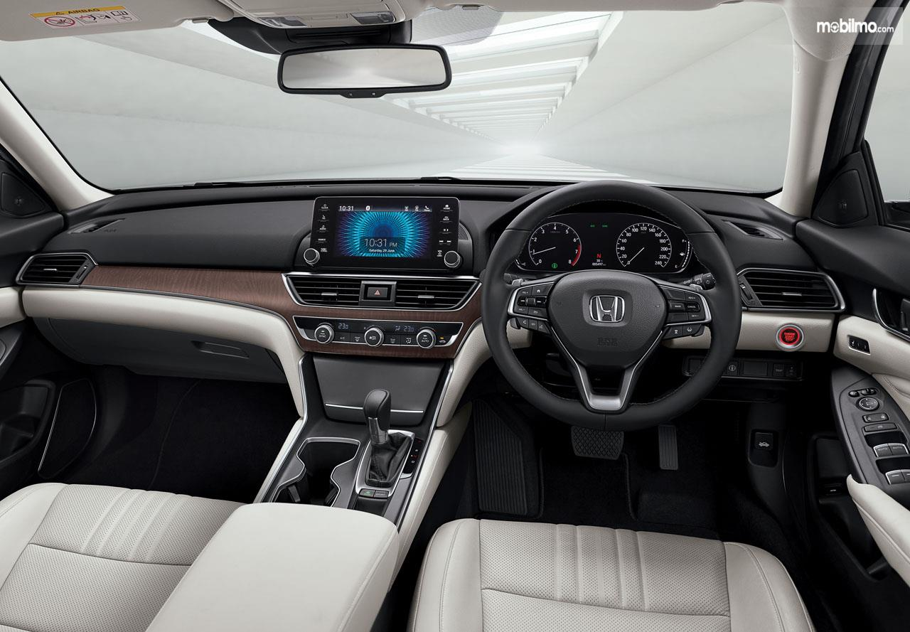 Foto Dashboard All New Honda Accord 2019