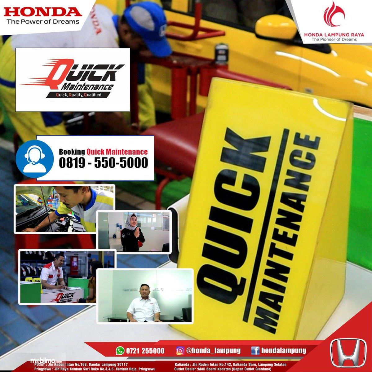 Banner Honda Quick Maintenance