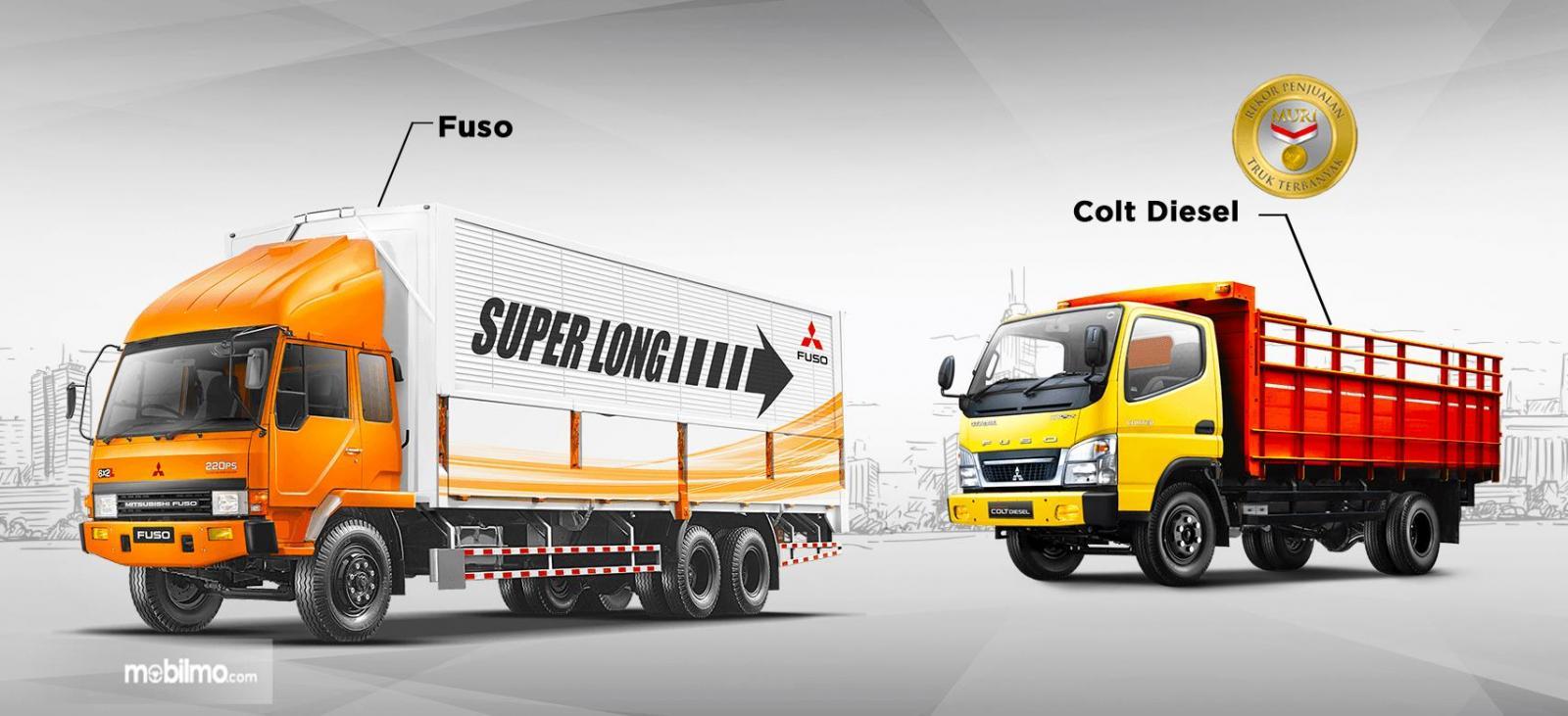Foto Line up Mitsubishi Fuso