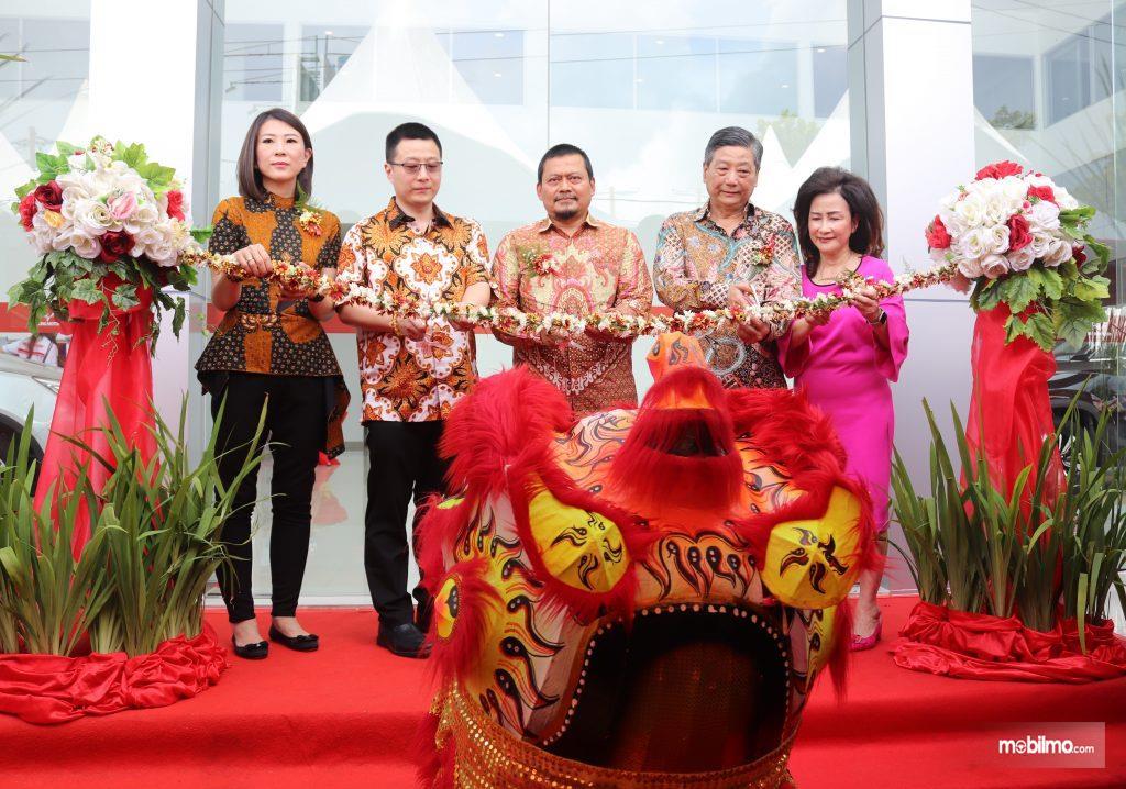 Foto saat Peresmian Diler Wuling Kumala Manado - Sulawesi Utara, 3 Februari 2020
