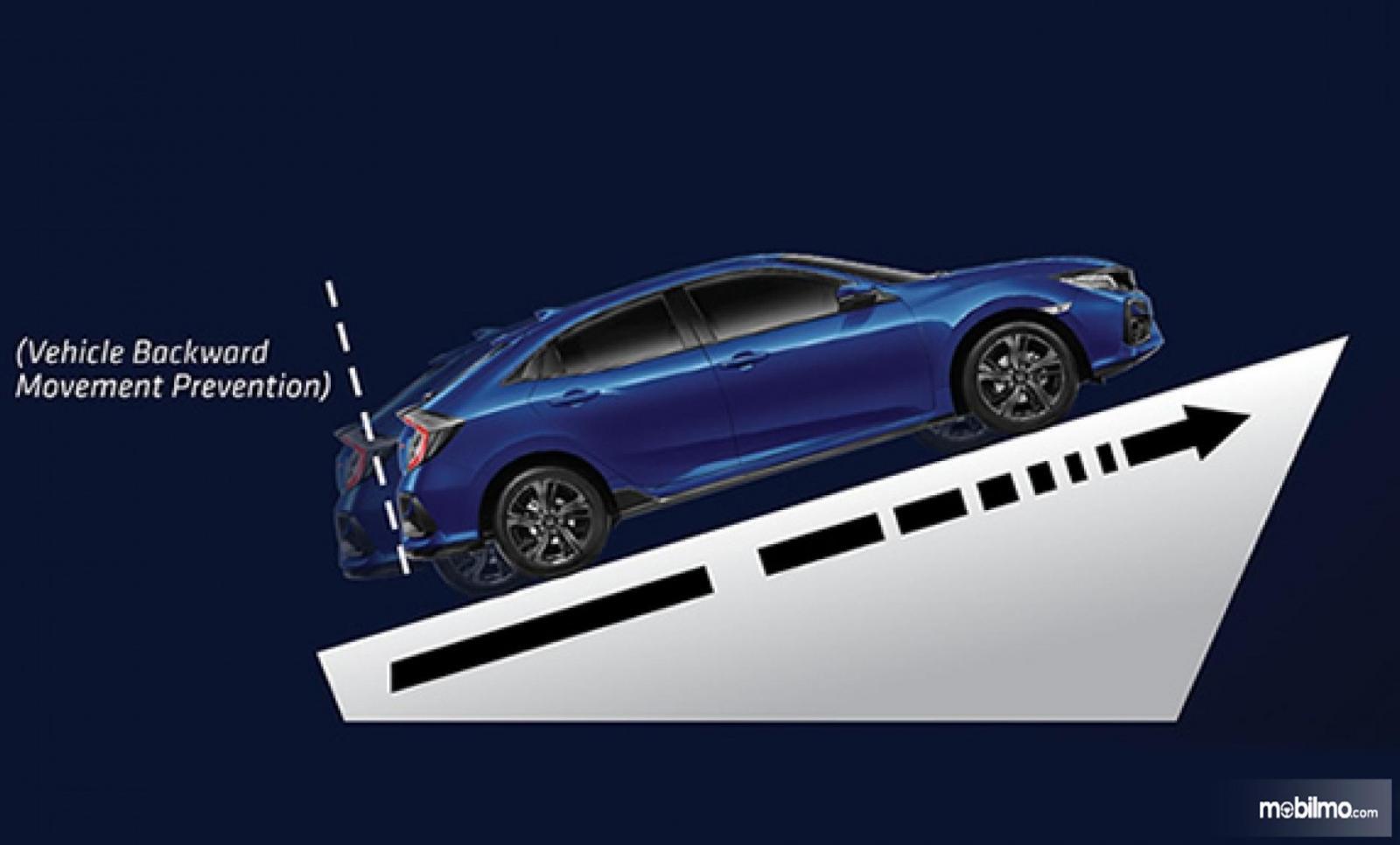 Gambaran Fitur HSA pada New Honda Civic Hatchback RS