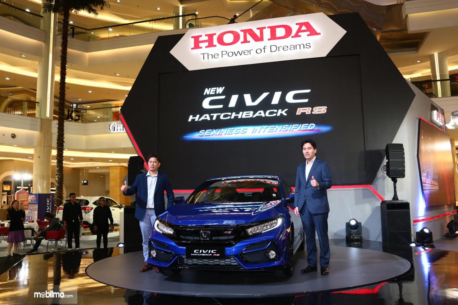 Foto saat Peluncuran New Honda Civic Hatchback RS di Mal Kota Kasablanka, Jakarta, (6/2/2020)