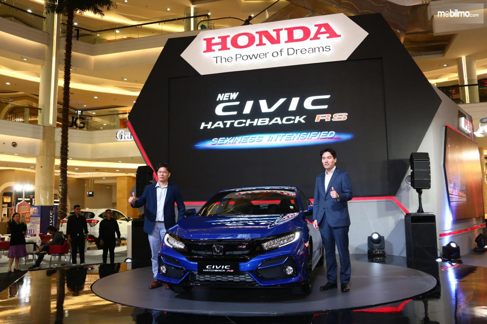 Foto peluncuran Honda Civic Hatchback RS