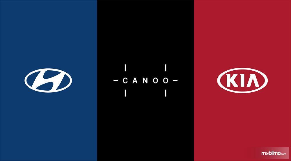 Gambar logo Hyundai - Canoo - KIA