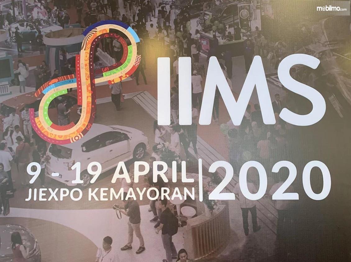 Gambar menunjukkan banner IIMS 2020