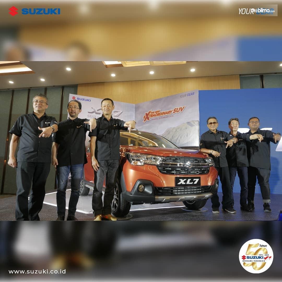 Foto saat Peluncuran Suzuki XL7