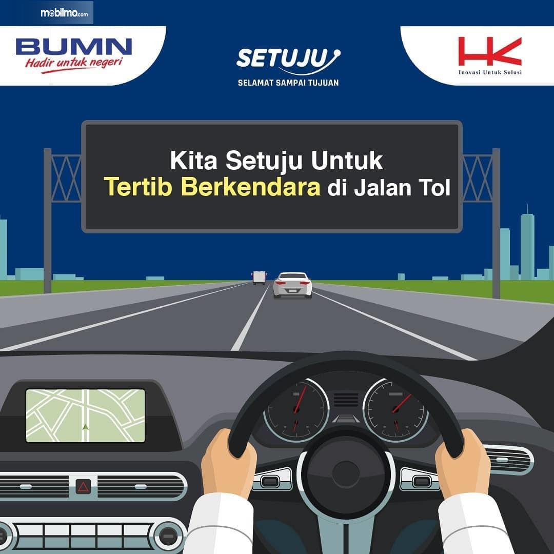 Gambar banner Kampanye SETUJU Selamat Sampai Tujuan ke-3
