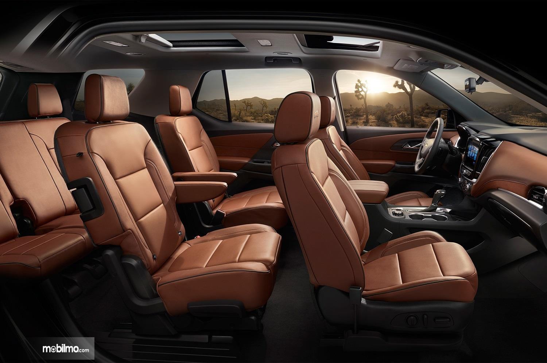 Foto menunjukkan Interior Chevrolet Treverse