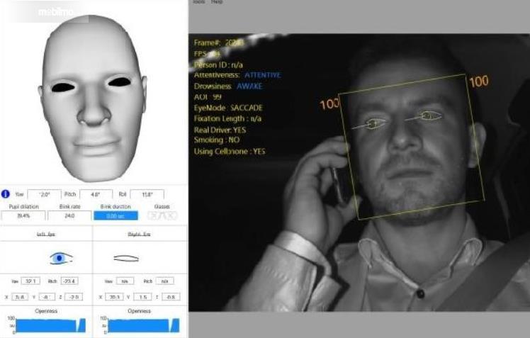 Gambar ini menunjukkan ilustrasi fitur untuk mendeteksi wajah