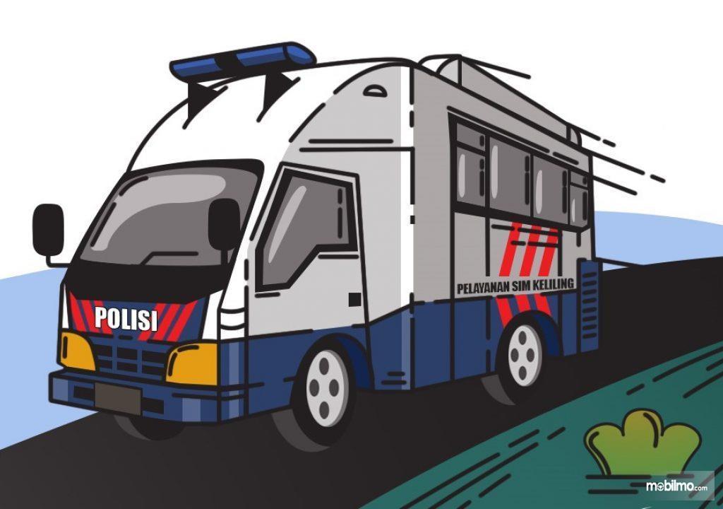 Gambar ilustrasi SIM Keliling