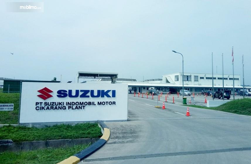 Foto pabrik Suzuki di Cikarang Bekasi Jawa Barat