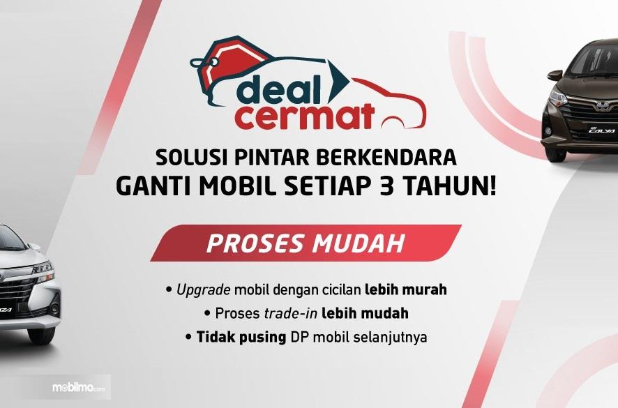 Foto menunjukkan Program Deal Cermat Toyota