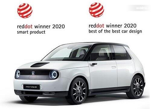 Honda e memenangkan 2 penghargaan Red Dot Award 2020