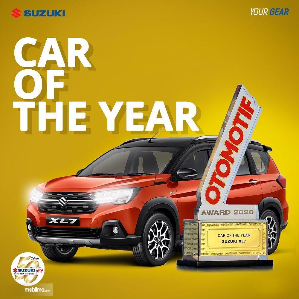 Foto Suzuki XL7 peraih penghargaan Car of The Year 2020
