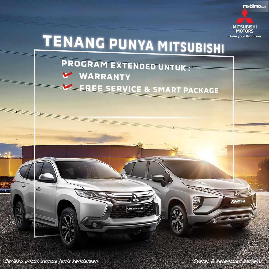 Gambar menunjukkan Perpanjangan garansi Mitsubishi