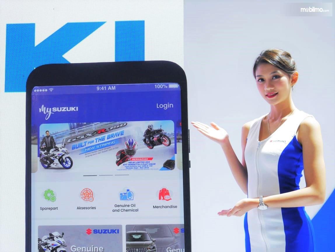 Foto saat peluncuran Aplikasi My Suzuki