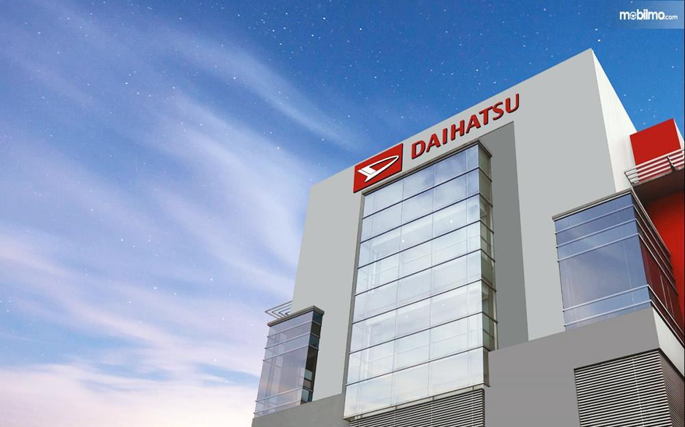 Foto menunjukkan salah satu fasilitas milik Daihatsu