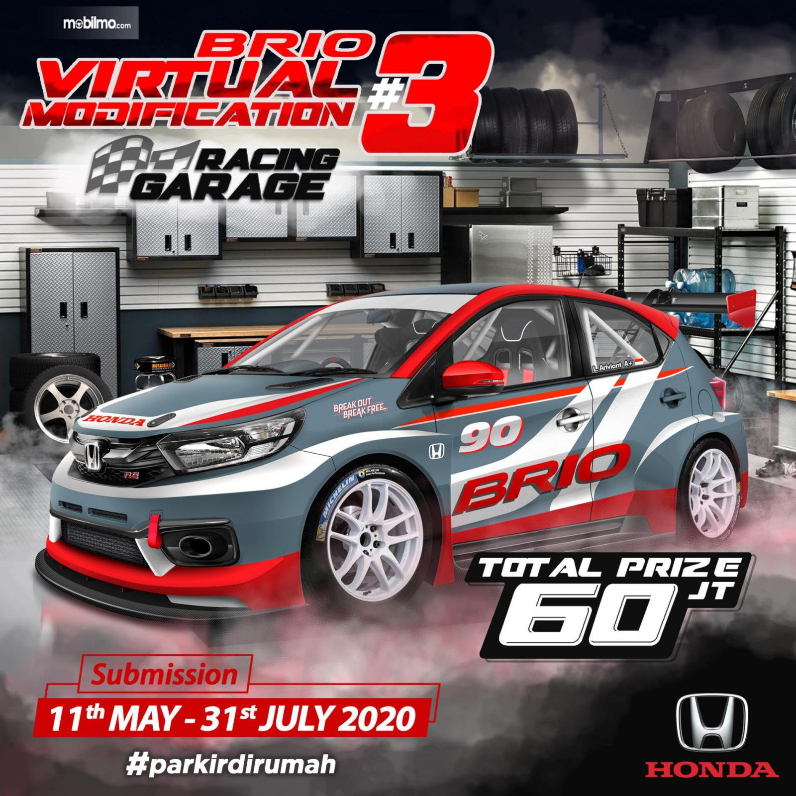 Gambar banner Honda Brio Virtual Modification