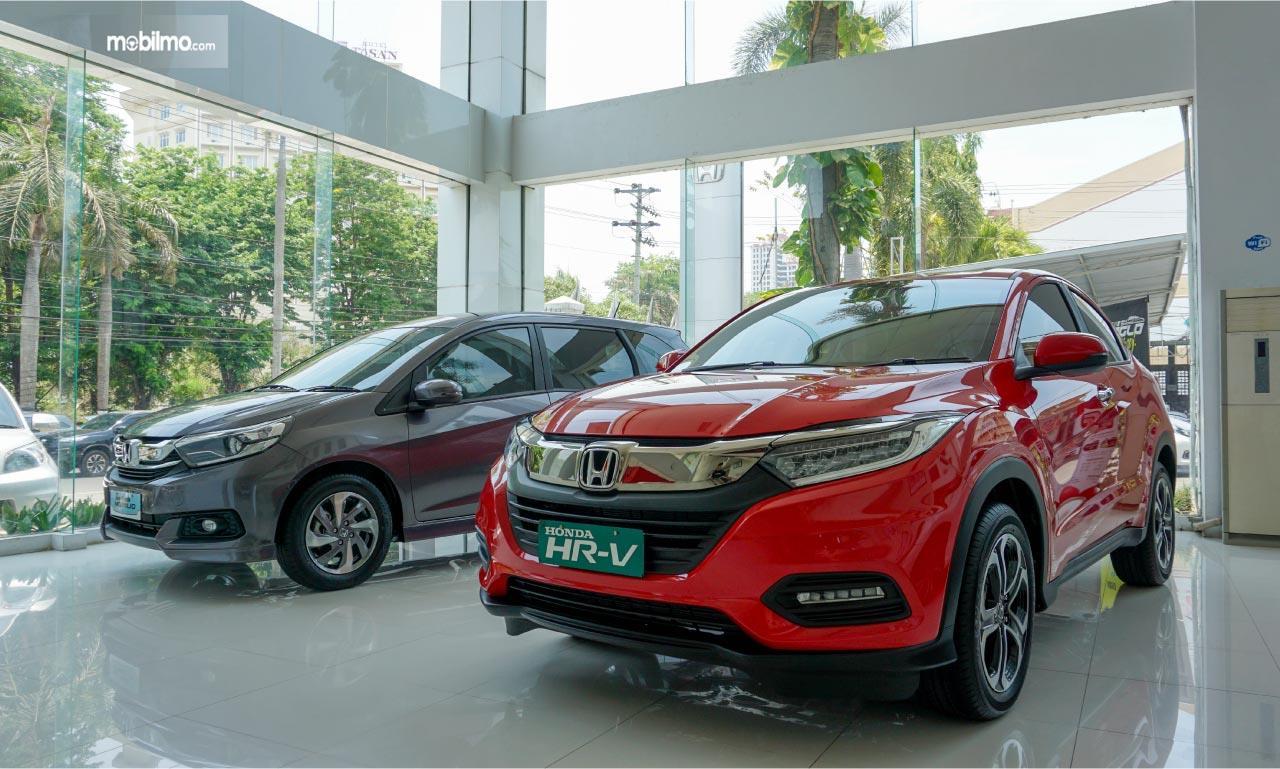 Foto menunjukkan salah satu diler Honda