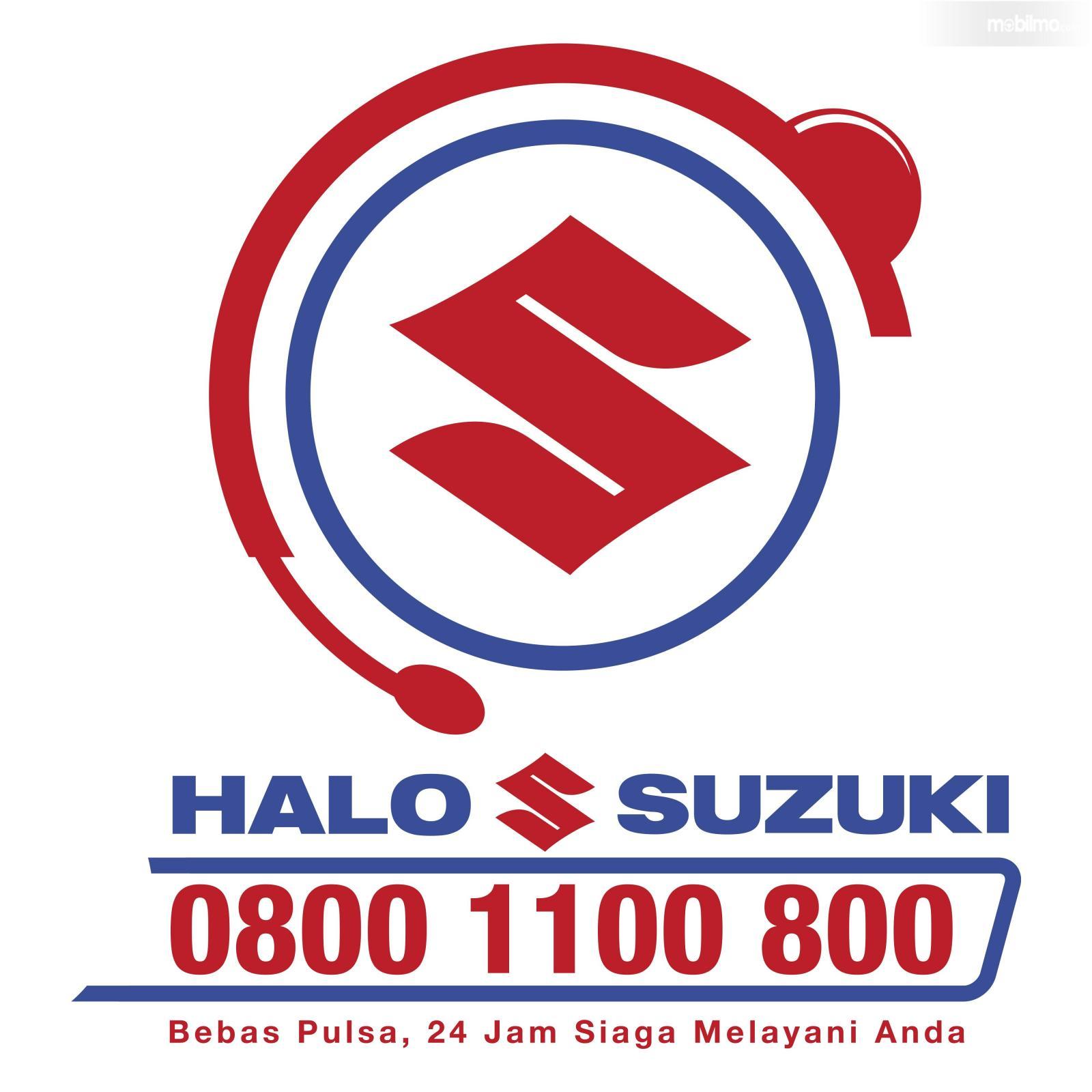 Gambar logo Hallo Suzuki yang baru