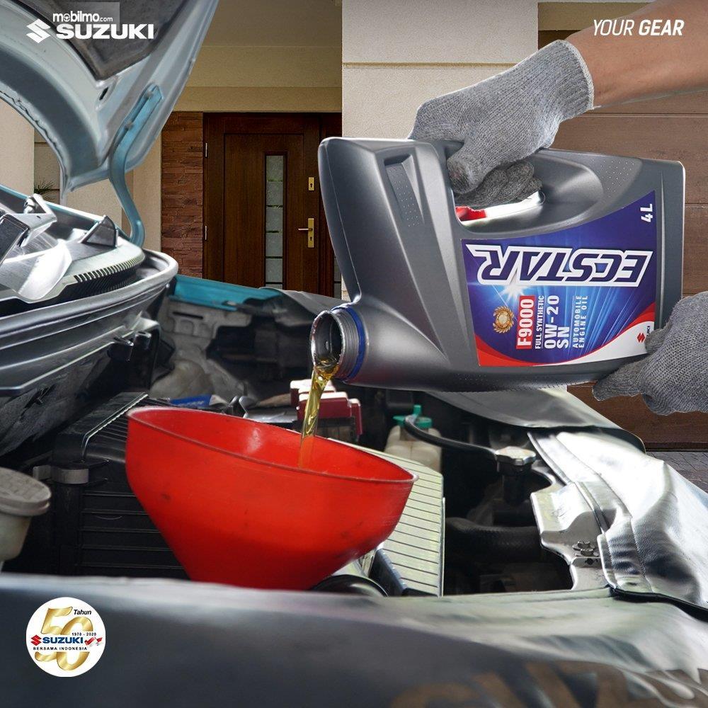 Foto menunjukkan Layanan Suzuki Home Service