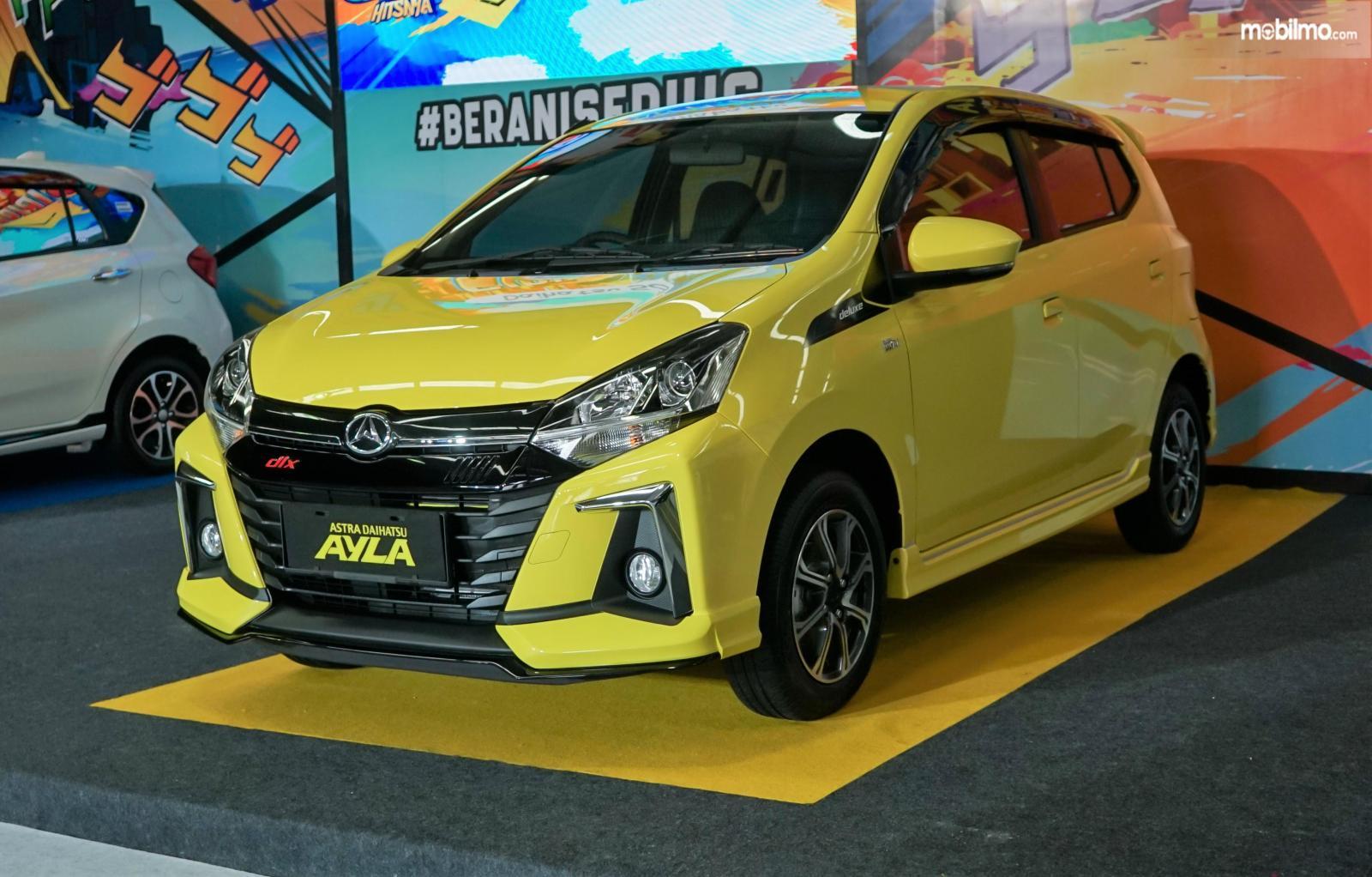 Foto menunjukkan New Daihatsu Ayla 2020