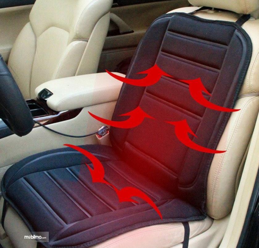 Gambar ini menunjukkan ilustrasi seat temperatur oeda jok mobil