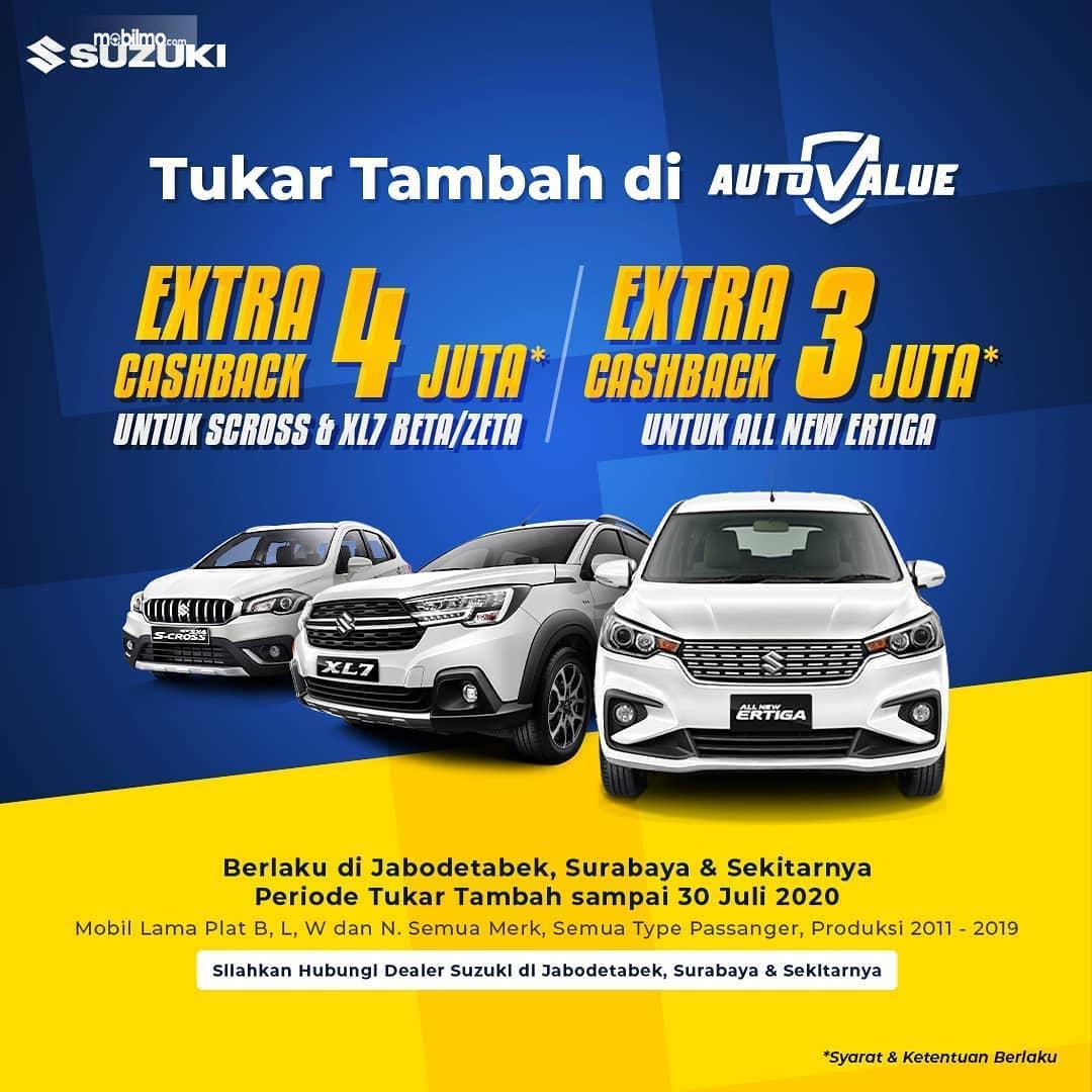 Foto banner Program Trade In di Suzuki Auto Value