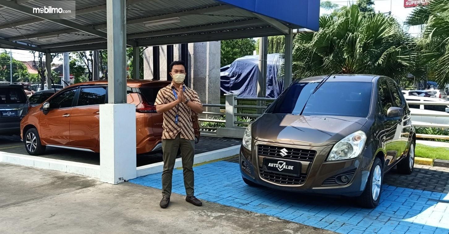 Foto menunjukkan Suzuki Auto Value - protokol kesehatan