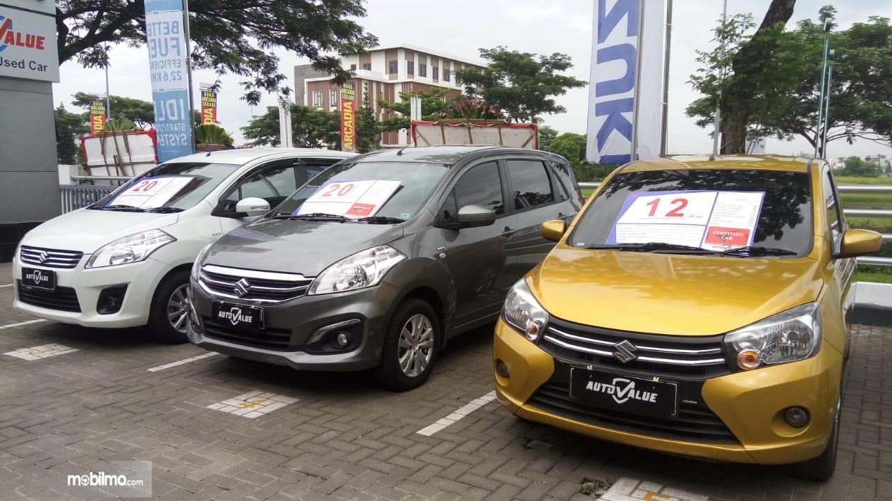 Foto menunjukkan Diler Suzuki Auto Value
