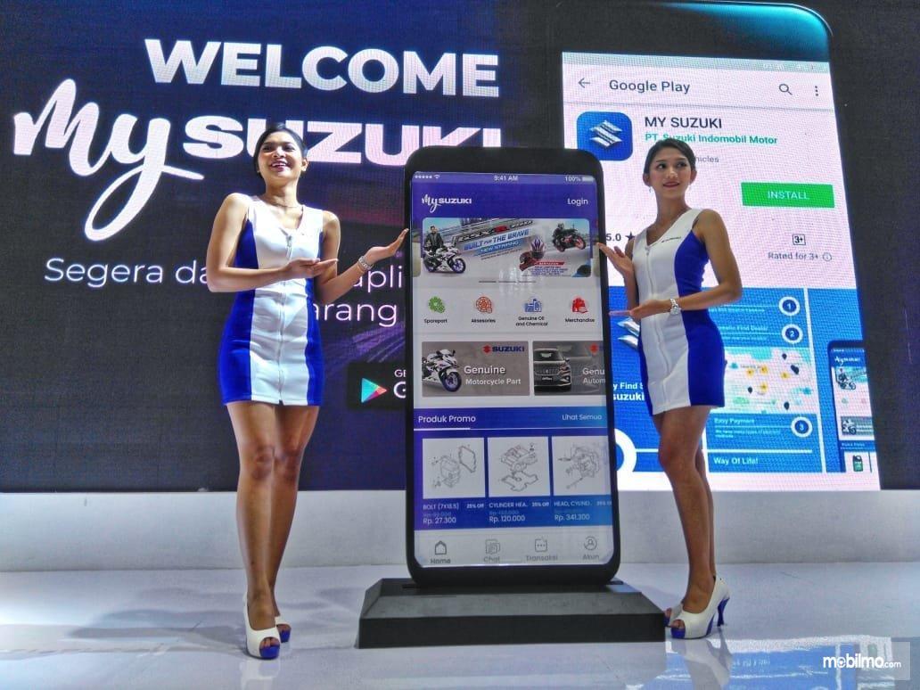 Foto saat peluncuran Aplikasi MySuzuki