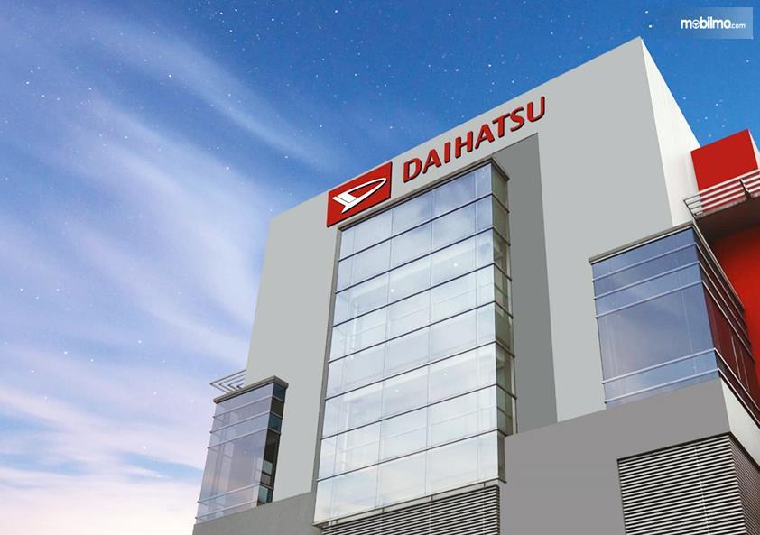 Foto menunjukkan salah satu diler Daihatsu