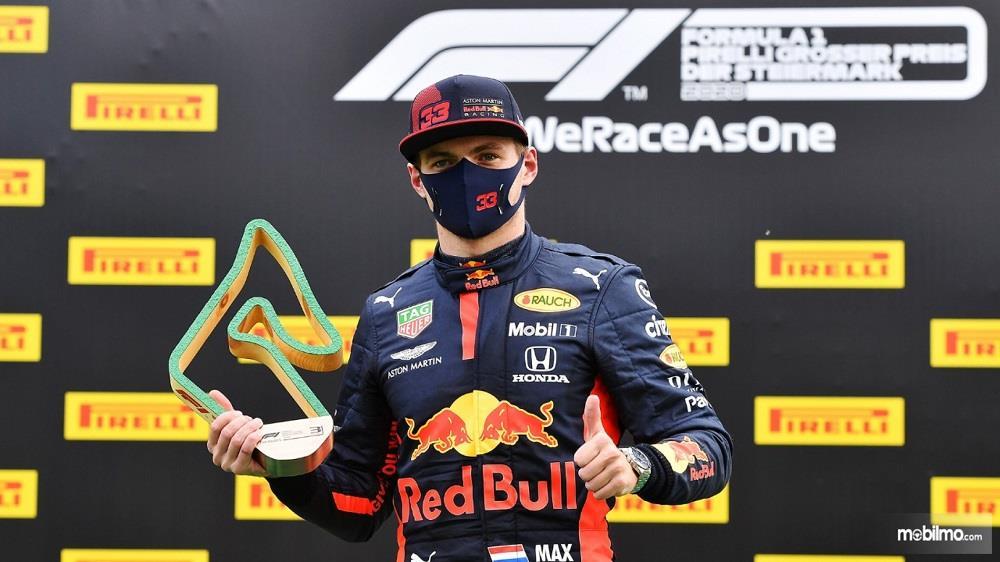 Foto pembalap tim Honda F1 2020 Max Varstappen