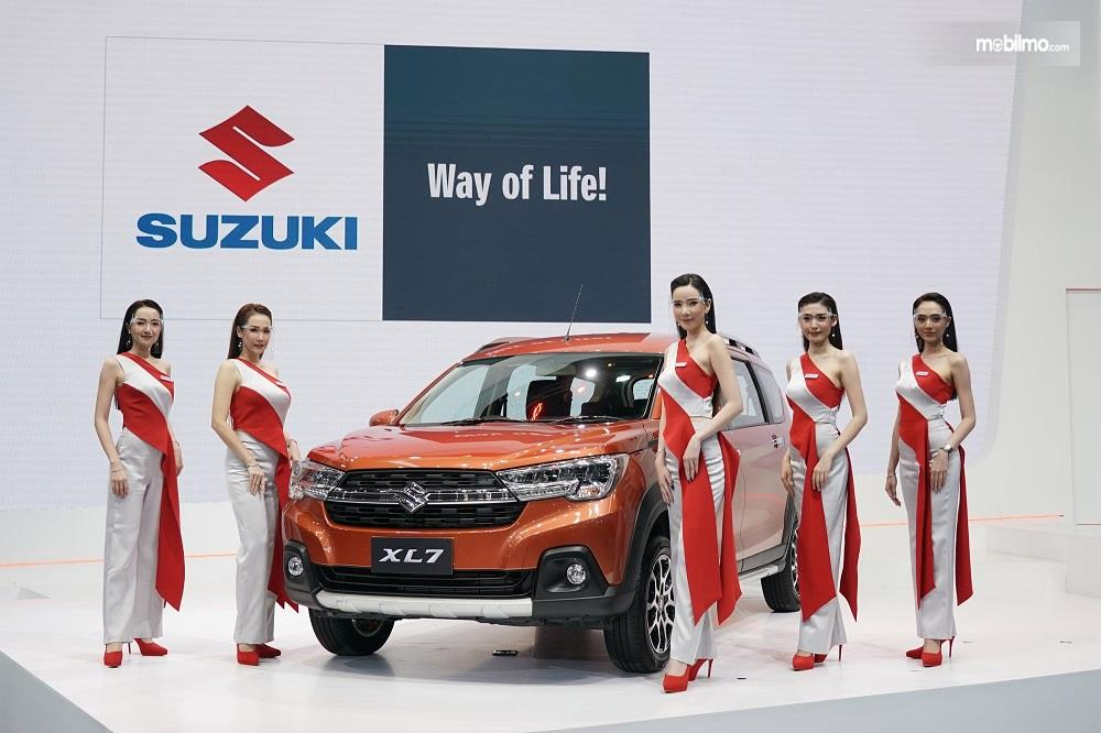 Foto Suzuki XL7 diluncurkan di Bangkok Motor Show 2020 Thailand