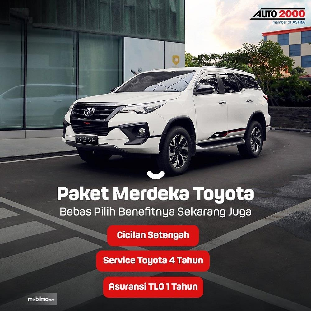 Foto menunjukkan Promo Auto2000 Agustus 2020