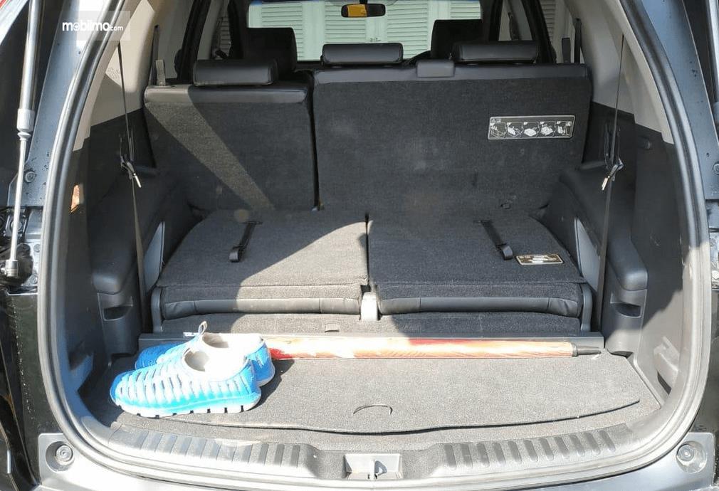 Gambar ini menunjukkan bagasi mobil All New Honda CR-V 1.5L Turbo 2019