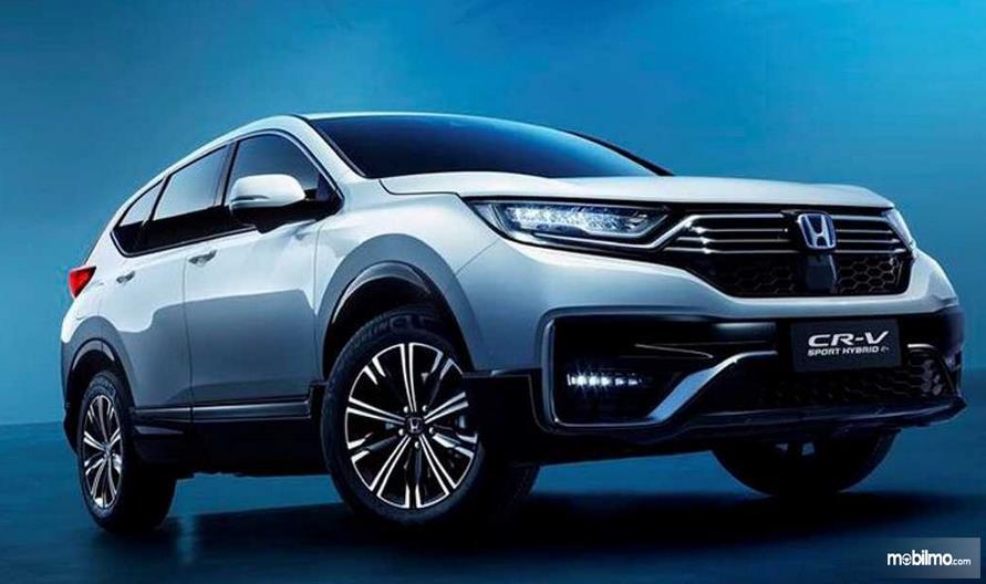 Gambar i ni menunjukkan Honda CR-V Plug-in Hybrid 2020