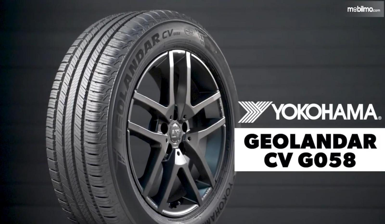 Gambar ini menunjukkan ban mobil Ban Geolandar CV G058