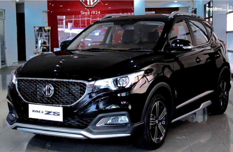 Gambar ini menunjukkan mobil MG ZS versi modifikasi