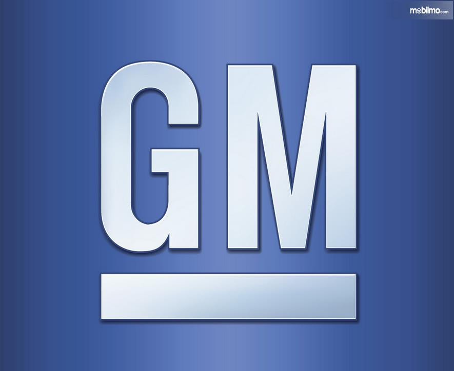 Gambar ini menunjukkan logo lama dari GM