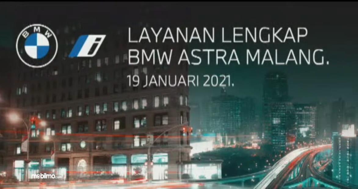 Gambar ini menunjukkan info mengenai pelayanan di BMW Astra malang