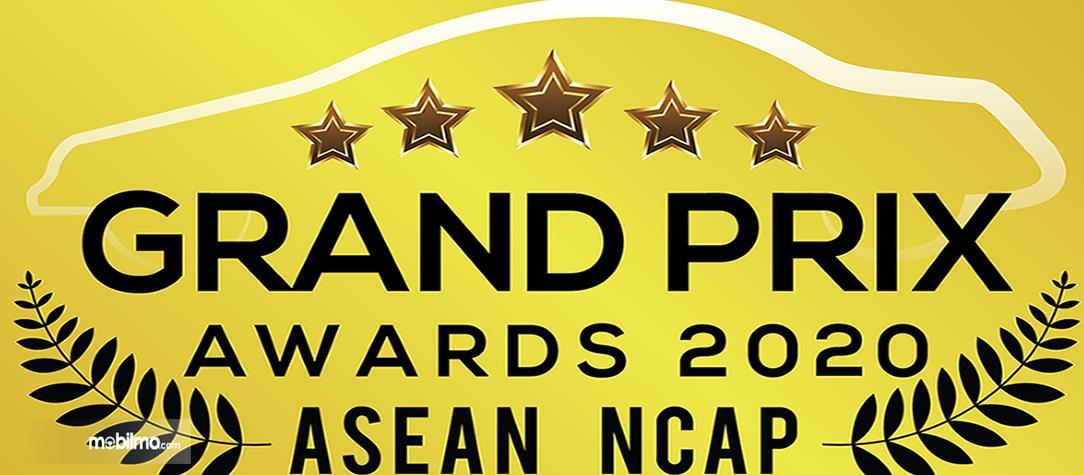 Gambar ini menunjukkan ASEAN NCAP Grand Prix Awards 2020