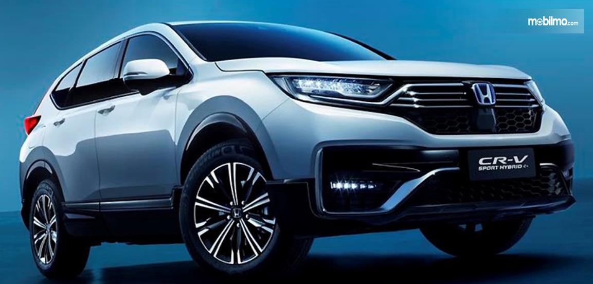 GAmbar ini menunjukkan mobil Honda CR-V PHEV yang hadir di China