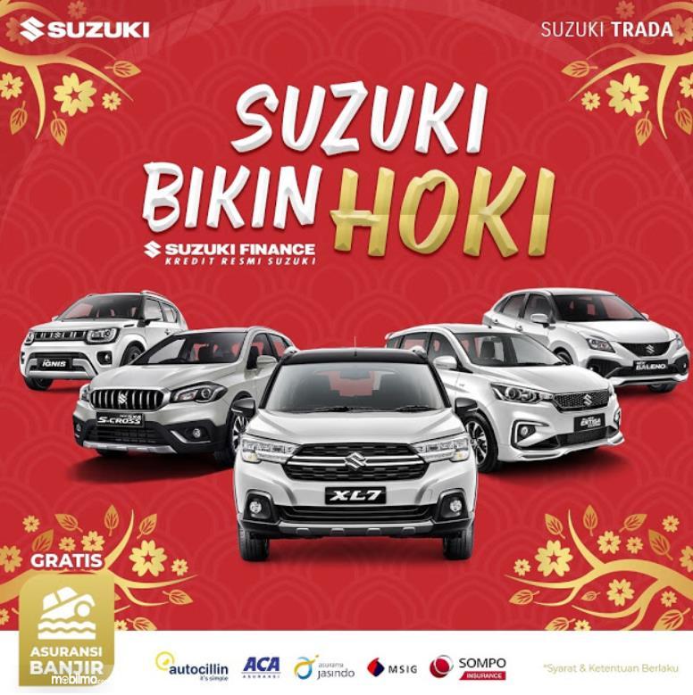 Gambar ini menunjukkan informasi program Suzuki Bikin Hoki