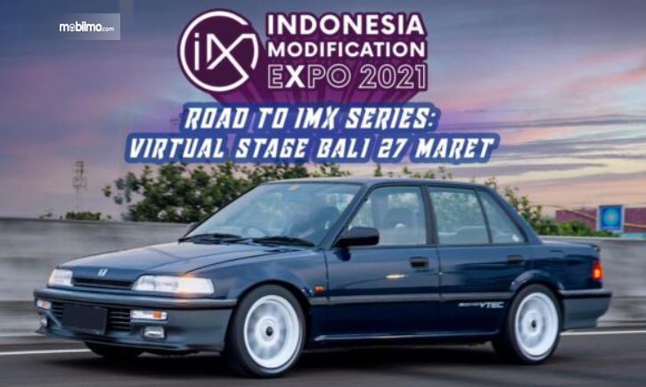Gambar ini menunjukkan selebaran Road To IMX 2021 Series  Virtual Stage Bali